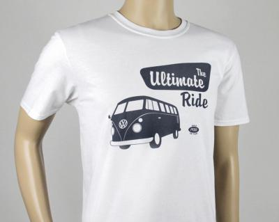 Brisa T-Shirt The Ultimate Ride, weiss